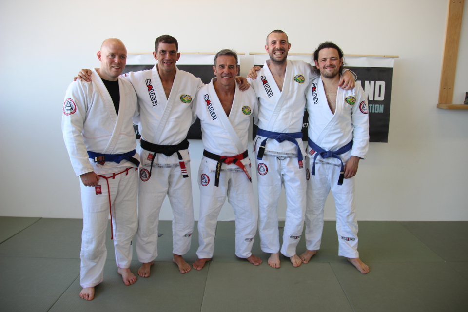 Bill Long Earns His Blue Belt!