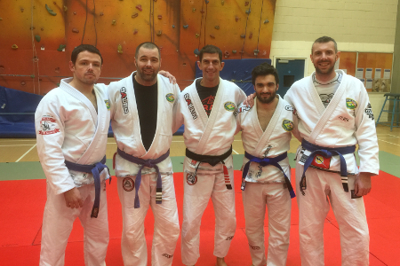 Kieron Simpson Earns His Blue Belt!