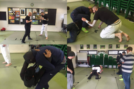 Self Defence Workshop - February 2016 | Team Pedro Sauer UK