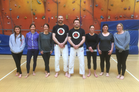 Women's Self Defence Workshop - April 2016 | Team Pedro Sauer UK