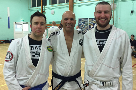 Royce Gracie Seminar - April 2016 | Team Pedro Sauer UK