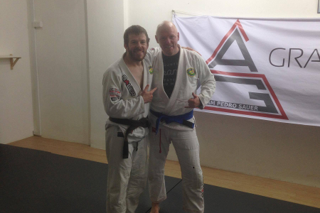 Bill Long at Gracie Jiu Jitsu Singapore - June 2016 | Team Pedro Sauer UK