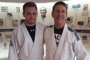 Andy Edwards at the Gracie Academy - August 2016 | Team Pedro Sauer UK