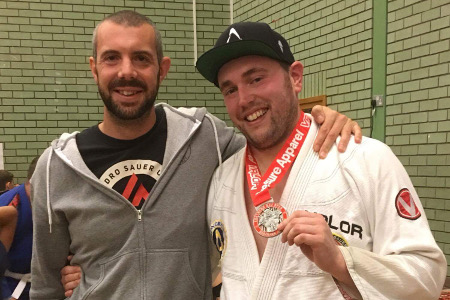 Joe Gilligan Gets Silver at Southend BJJ Open – September 2016 | Team Pedro Sauer UK