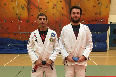 Ally Grant Earns His Blue Belt - October 2016 | Team Pedro Sauer UK