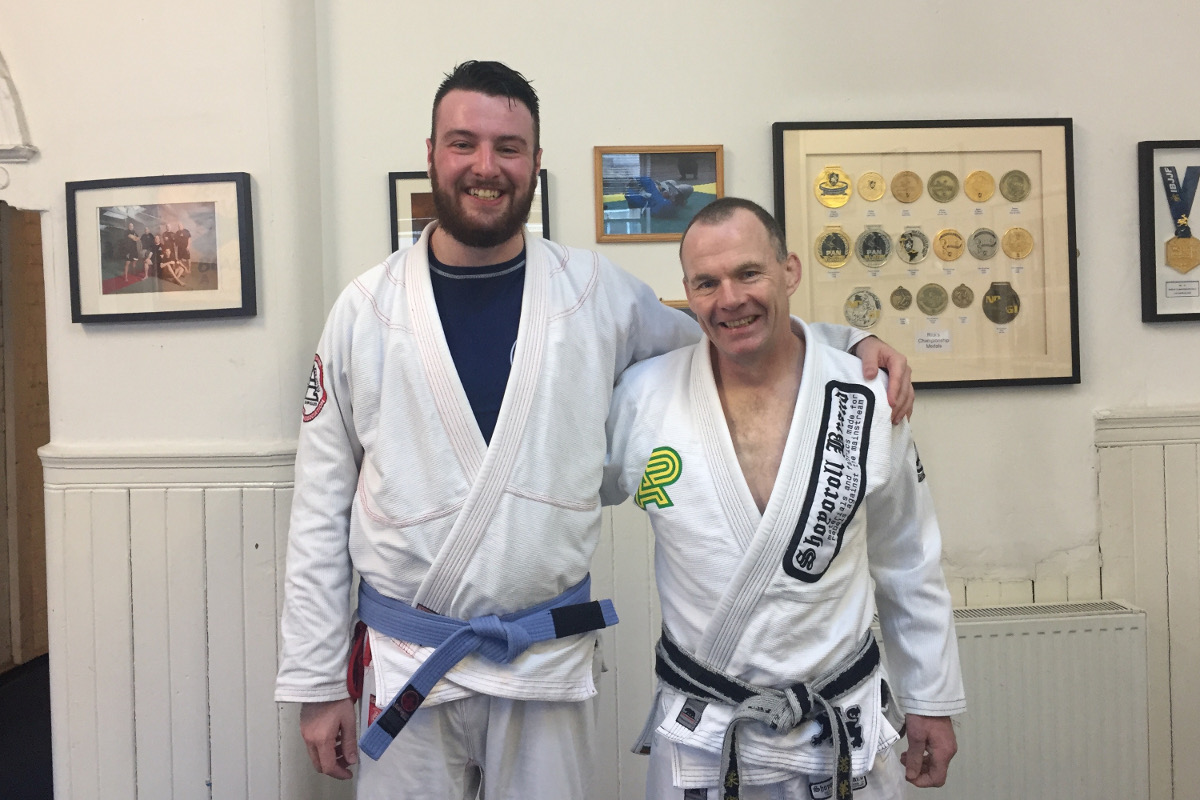 Ally Grant Visits Rick Young's Black Belt Academy - November 2016 | Team Pedro Sauer UK