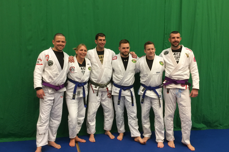 Team Pedro Sauer UK Blue and Purple Belts - February 2018 | Team Pedro Sauer UK