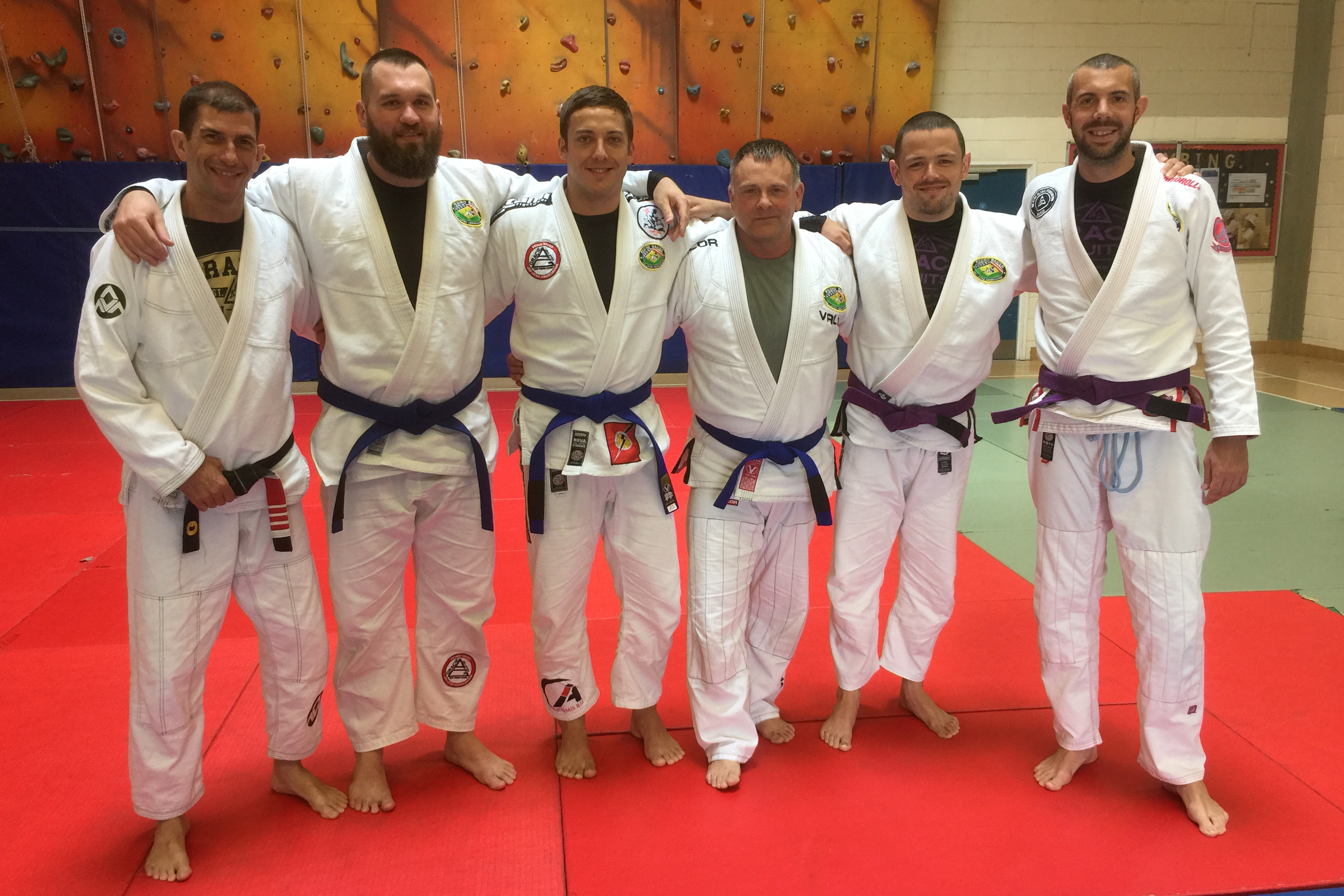 New Blue Belts at Team Pedro Sauer UK! - June 2018
