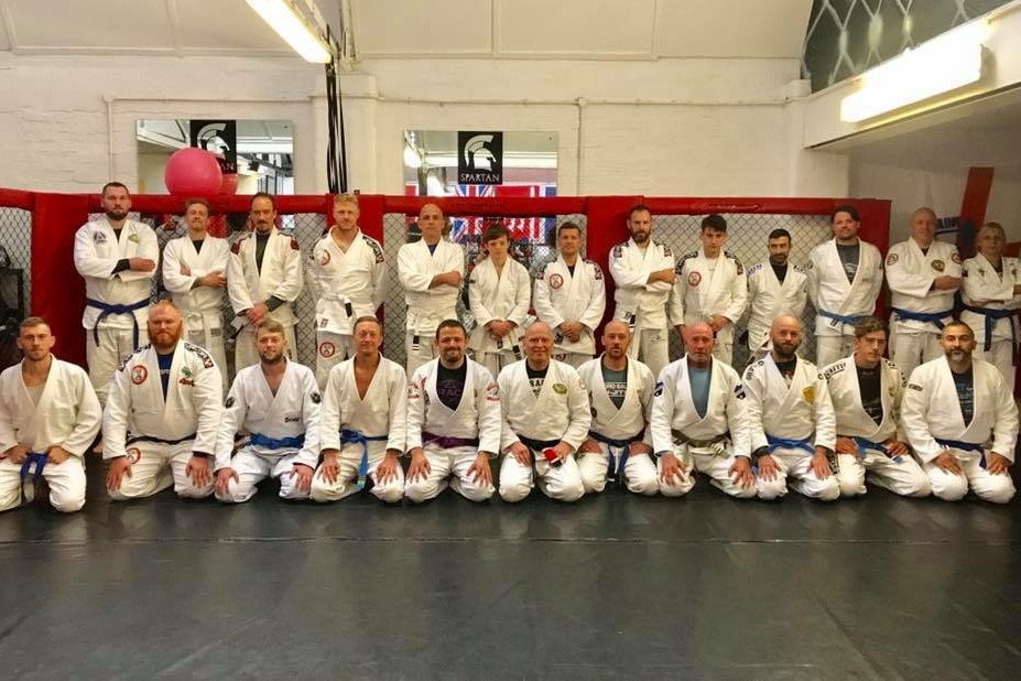 Johann Eyvindsson at Southend Combat Academy - September 2018 | Team Pedro Sauer UK